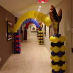 Super Heroes Balloon Arches