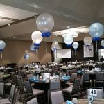 Balloon Centerpieces with 3 foot Balloons copy 800