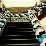 Balloon Garlands framing Stairs copy 2k