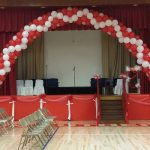 Stage with Graduation Arch